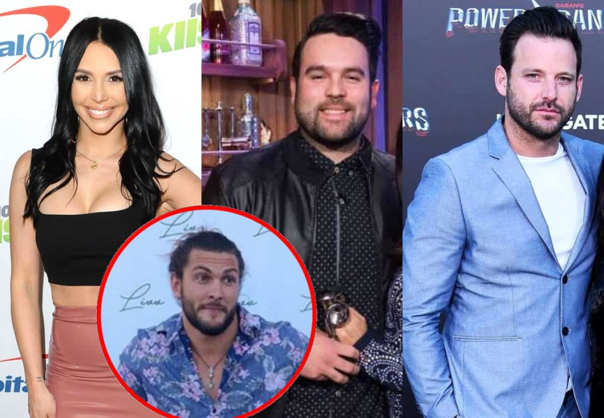 Scheana Shay's New Boyfriend Brock Shades Her Ex-Husband Mike Shay, Plus They Dish on Run-In With Rob Valletta