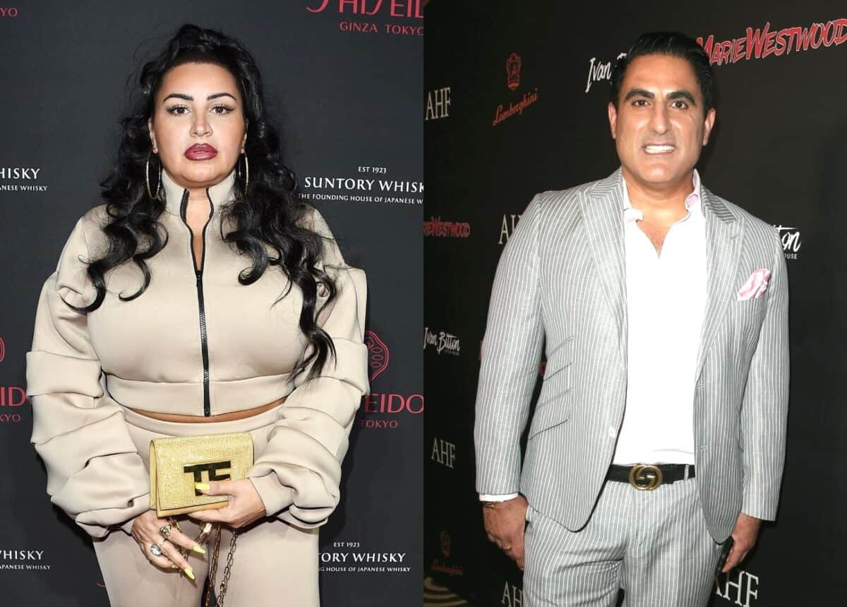 Shahs of Sunset's 'MJ' Javid Talks Feud With Reza Farahan and Reveals Which Costars Have Her Back, Shares if There's Any Hope for Making Amends
