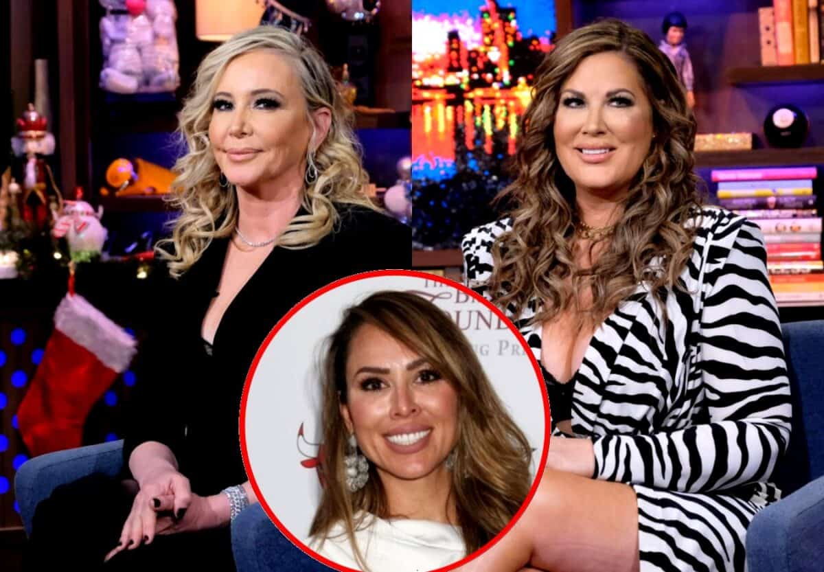 RHOC's Shannon Beador Throws Shade at Emily Simpson's Law Degree, See How Emily's Fighting Back as Kelly Dodd Also Reacts