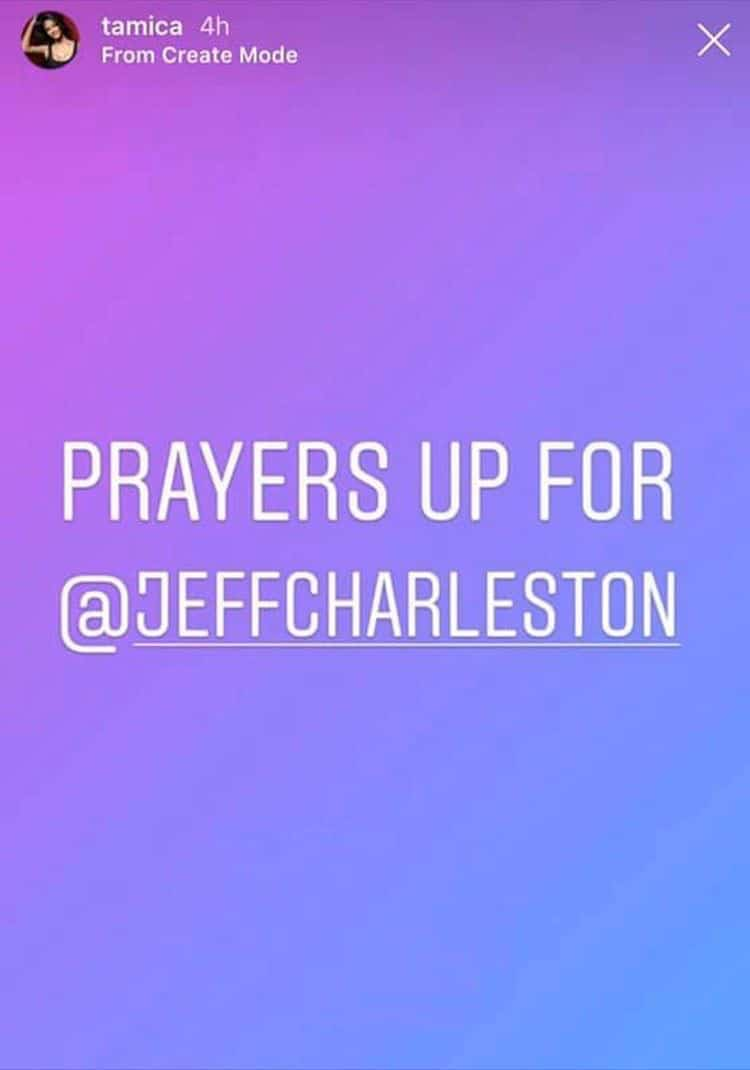 Southern Charm NOLA Tamica Lee asks prayers for Jeff Charleston