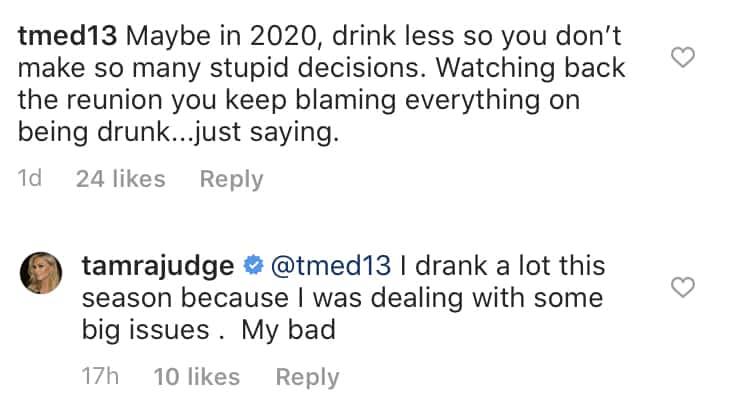 Tamra Judge Explains Drinking Too Much on RHOC Season 14