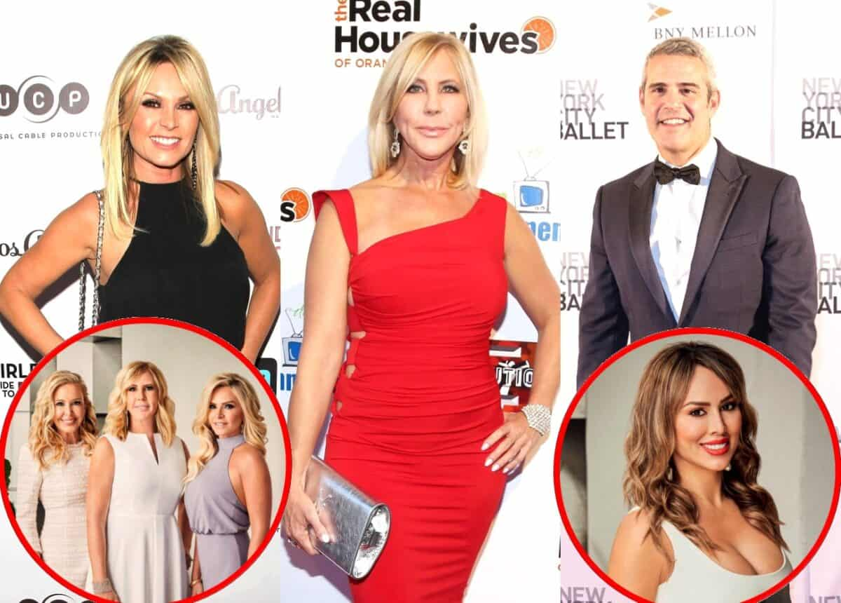 "Tamra Judge Says Vicki Gunvalson ""Got in a Fight"" With Andy Cohen at RHOC Reunion"
