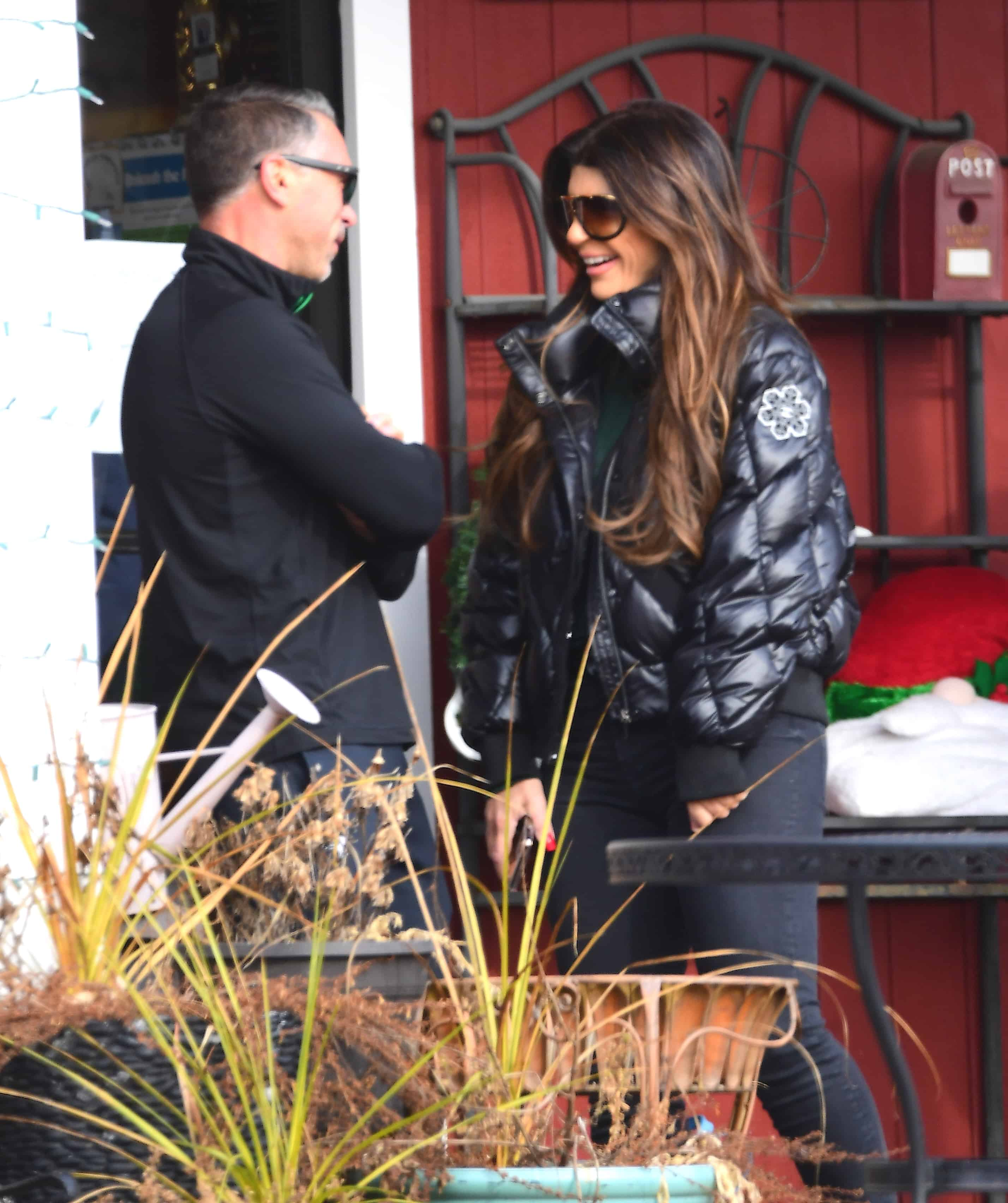 RHONJ Teresa Giudice and Anthony Delorenzo Enjoy a Day Out in New Jersey