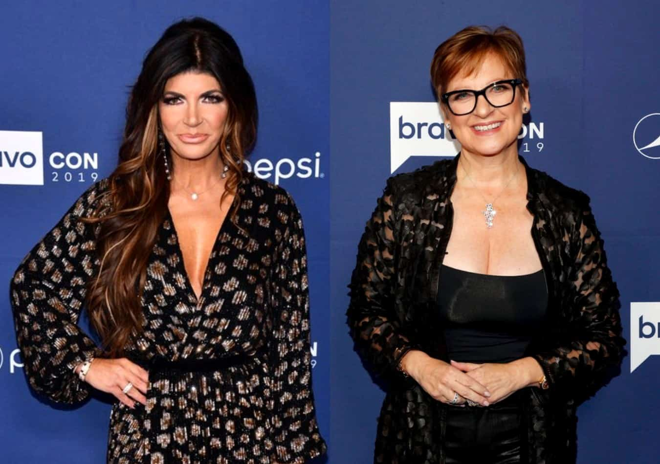 RHONJ's Teresa Giudice Explains Why She Believes Caroline Manzo is a 'Rat' and Reveals One of the People Who Turned Her and Joe Into the Feds Appeared on the Show