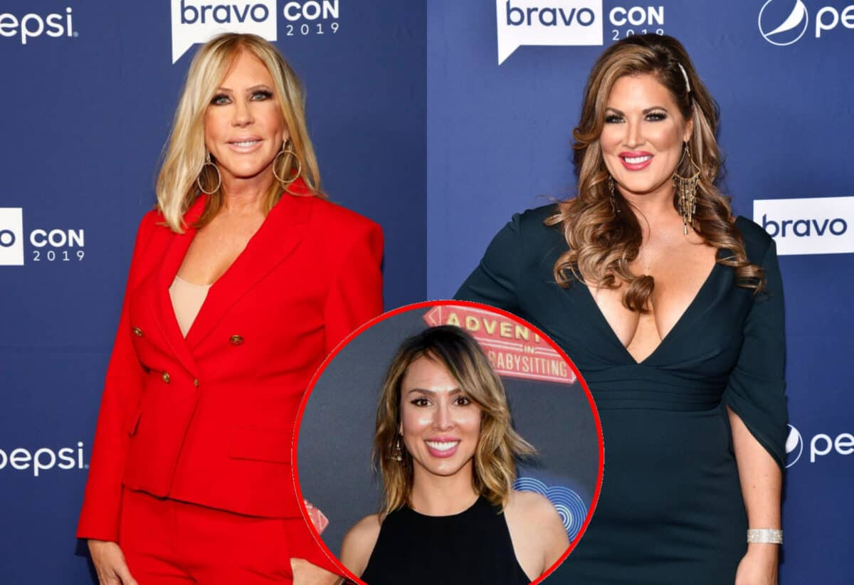 """RHOC's Vicki Gunvalson Slams """"Disrespectful"""" Emily Simpson for Poking Fun at Her Age and Drinking Kelly Dodd's Kool-Aid, See Emily's Response and Tamra's 'Age-Shaming' Clap Back"""