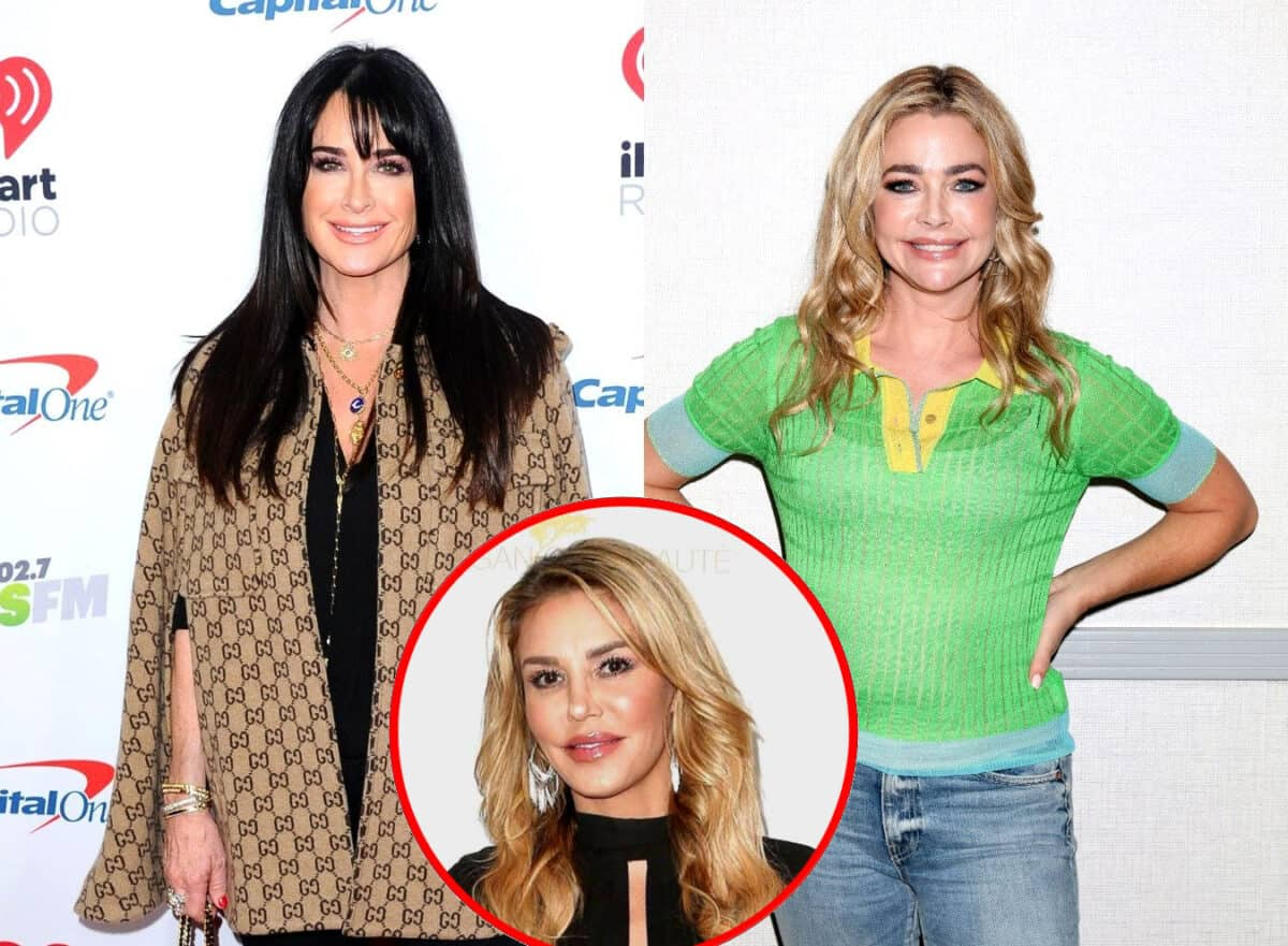 Kyle Richards Denies the RHOBH Cast Planned to Take Down Denise Richards, Plus Brandi Glanville Sets the Record Straight