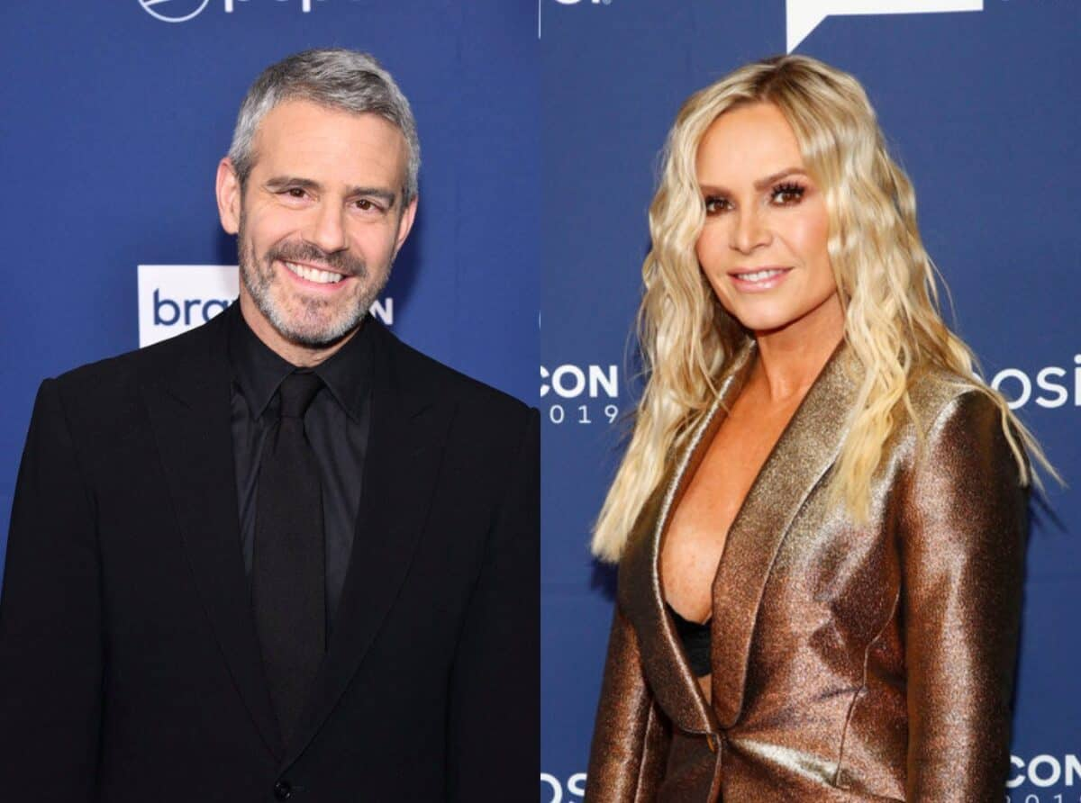 Andy Cohen Reveals Why Tamra Judge Was Let Go From RHOC and Reacts to Her Unfollowing Him, Plus See Tamra's Response to Andy's Tweet About Her Exit