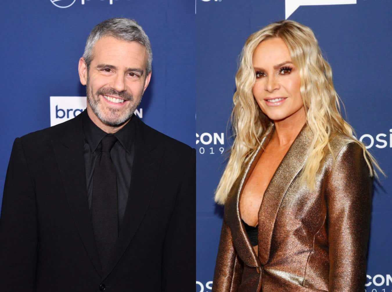 "Andy Cohen Responds to ""Ageist"" Claim by Tamra Judge Over Her RHOC Firing, Plus He Teases ""Real Serious"" Issues on Season 15 and Talks Bringing Brandi Glanville Back to RHOBH"