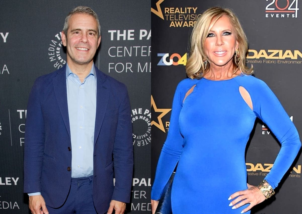 Andy Cohen Reveals Where He Stands With Vicki Gunvalson After She Called Him Out, Did They Have a Falling Out Following Vicki's Exit From the RHOC?