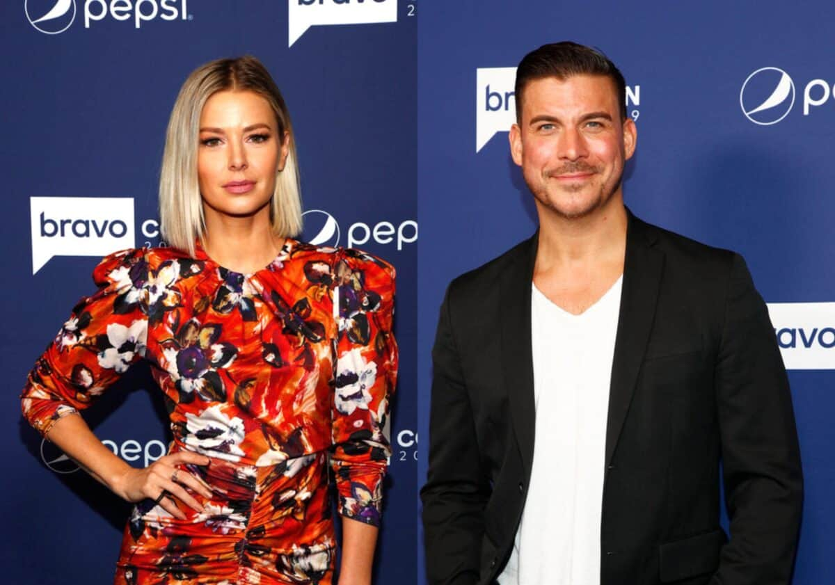 Vanderpump Rules' Ariana Madix Responds After Jax Taylor Throws Shade at Her Sexuality, Reacts to Being Labeled an 'Opportunist'