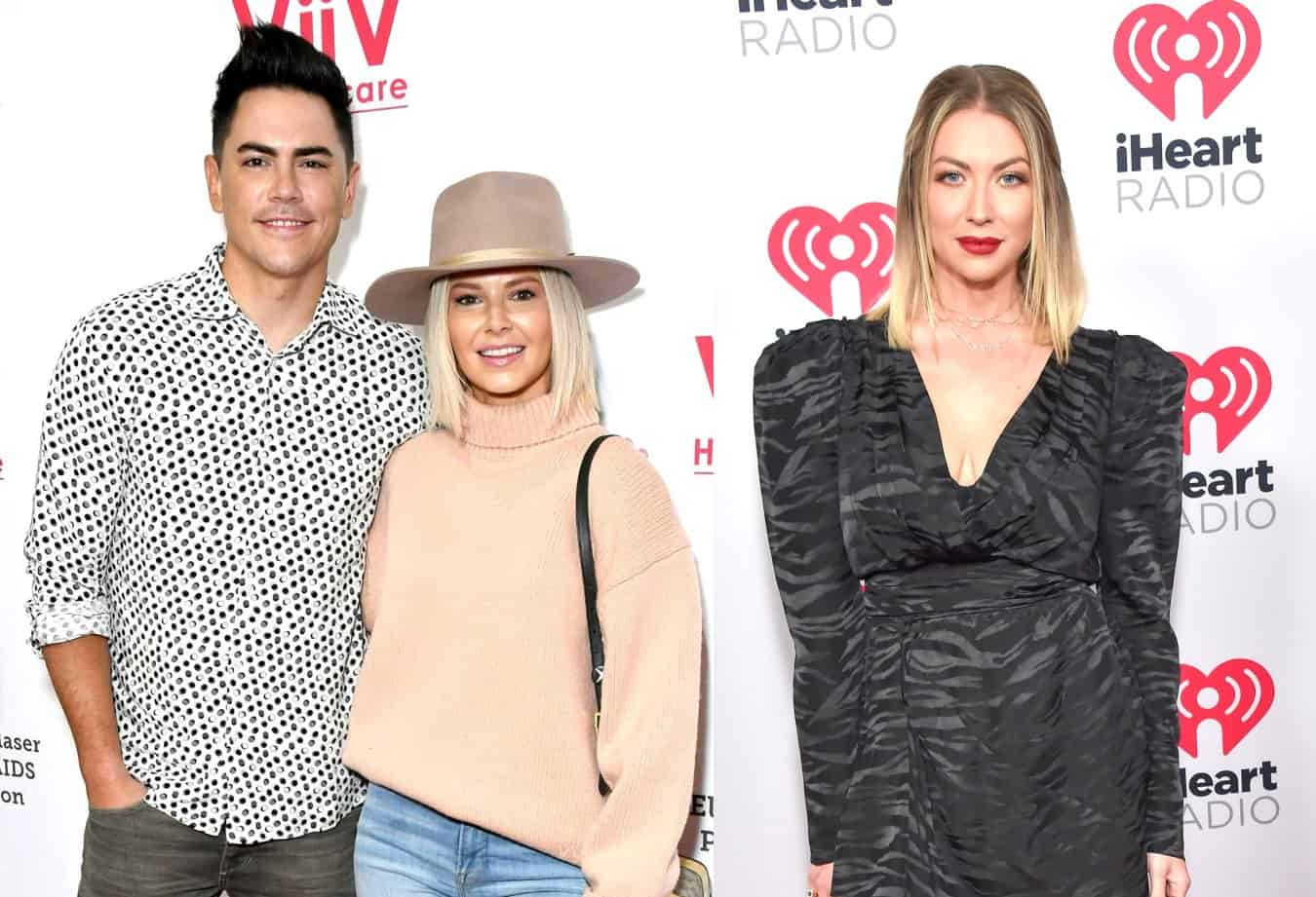 Vanderpump Rules' Ariana Madix Reacts to Tom Sandoval's Rant Against Stassi Schroeder, Plus She Offers an Update on Her New House and Reveals If She's Living Off TomTom