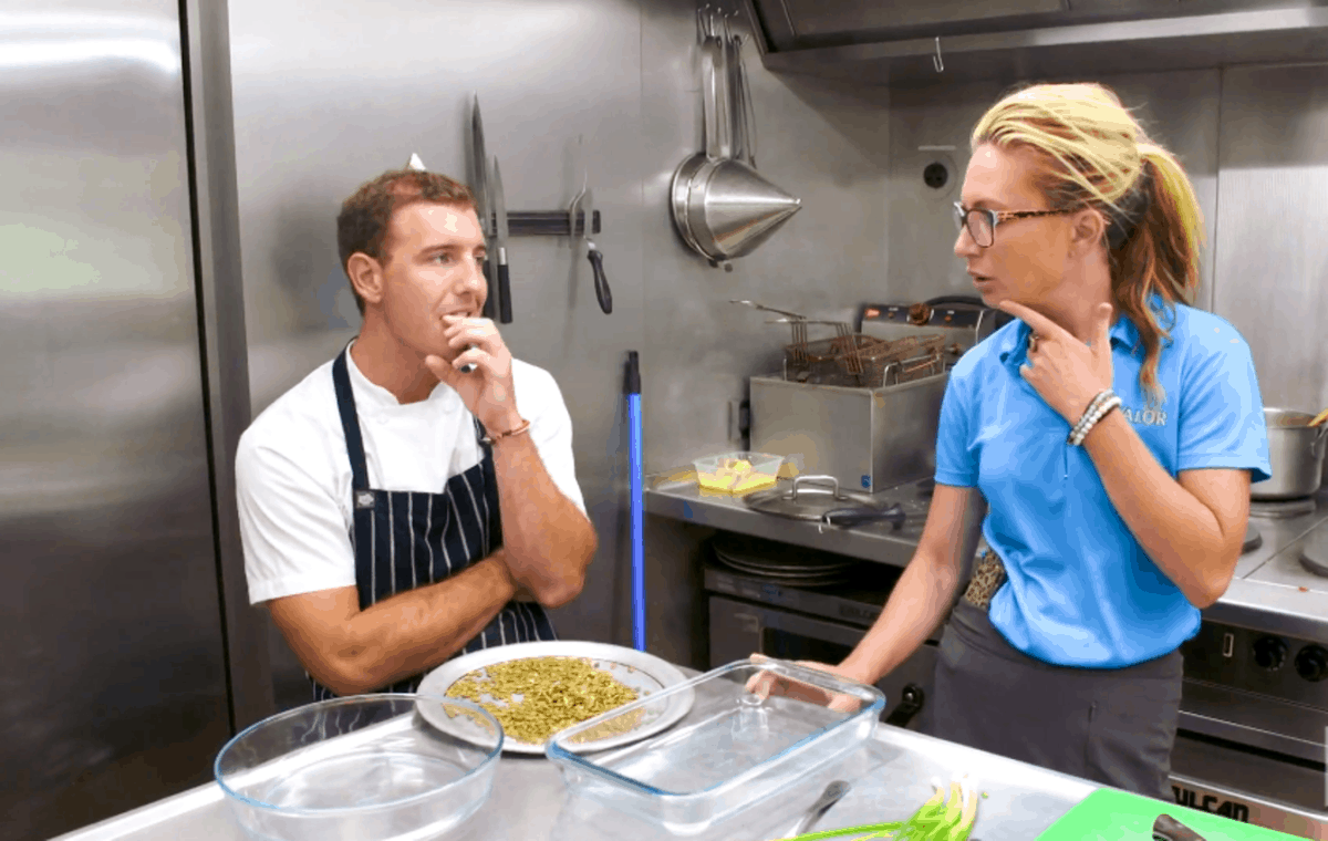 Below Deck Recap: Kevin and Kate Butt Heads Over Casserole Dishes, Plus Kate's Confronted by Charter Guest