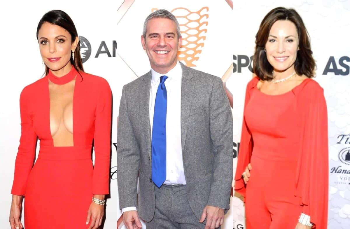 "Bethenny Frankel Reveals Andy Cohen Was ""Upset"" When She Quit RHONY as Luann de Lesseps Takes Credit for Show's Success"