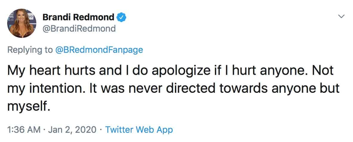 RHOD Brandi Redmond Didn't Mean to Hurt Anyone With Asian Video