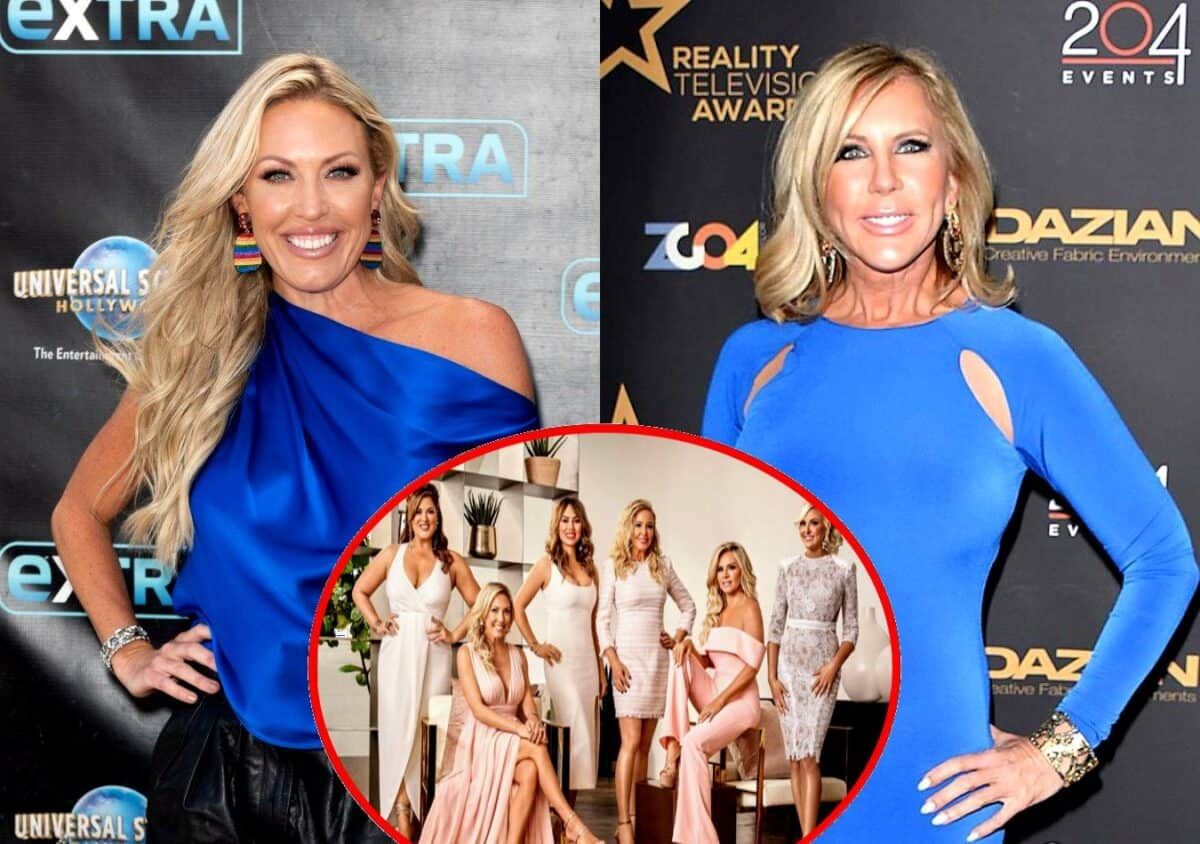 Braunwyn Windham-Burke Shades Vicki Gunvalson After She Announces RHOC Departure, Plus Shannon Beador , Gina, and Other Real Housewives React