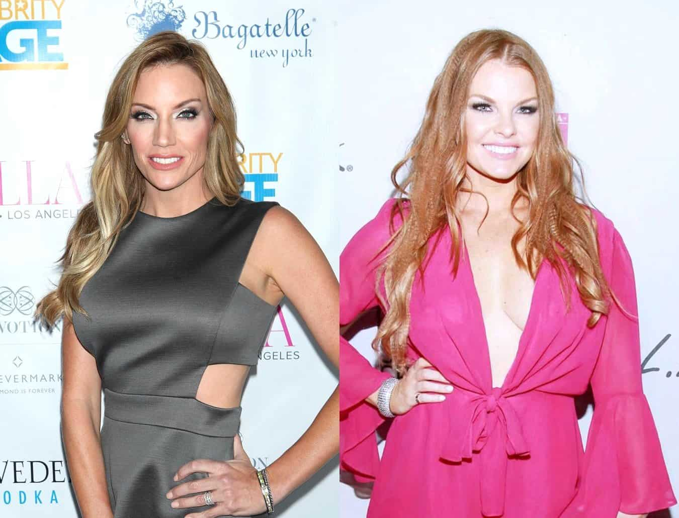 """RHOD's Cary Deuber Responds to Leaked Video of Brandi Redmond Badmouthing Her Husband Mark Deuber, Calls it """"Disappointing"""" and """"Messy"""""""