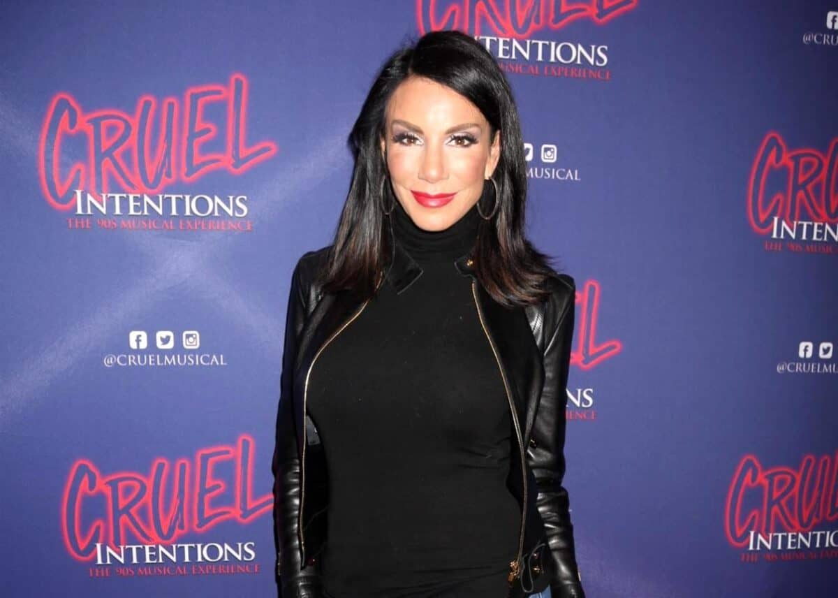 PHOTO: Danielle Staub Attends RHONJ Reunion, But Sits in Her Own Chair Separate From the Cast