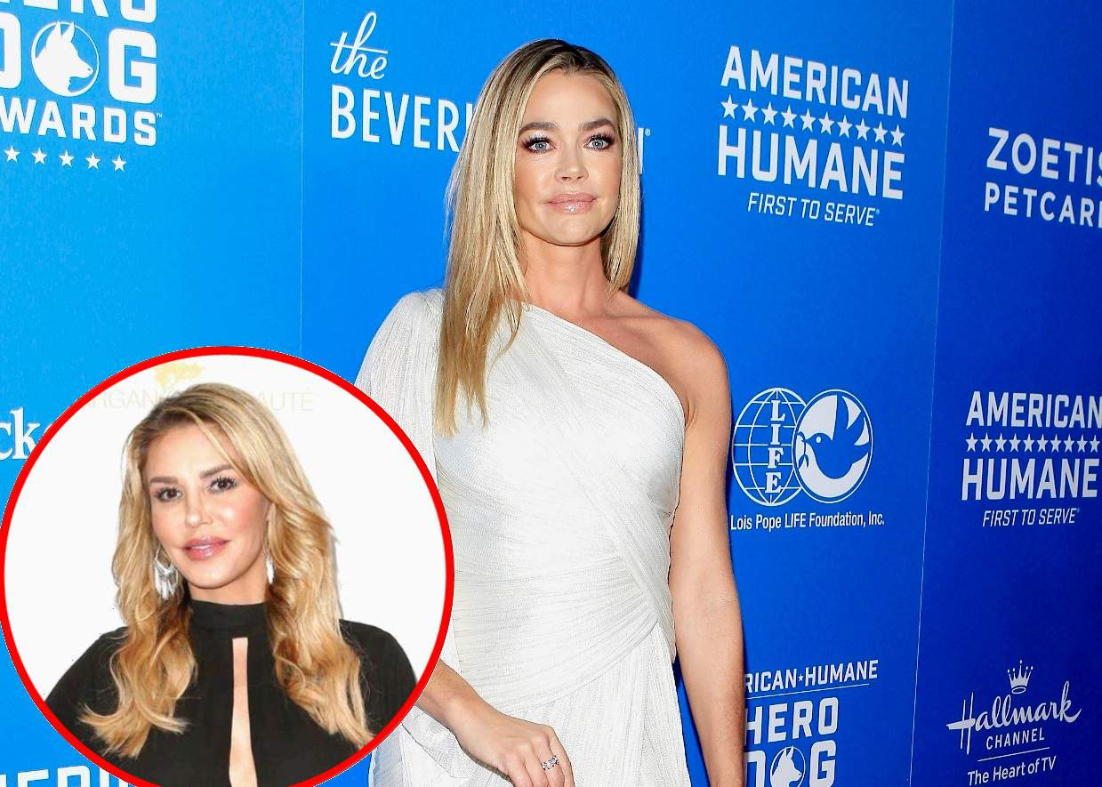 RHOBH's Denise Richards Wants Footage About Her Alleged Hookup With Brandi Glanville Removed From Show