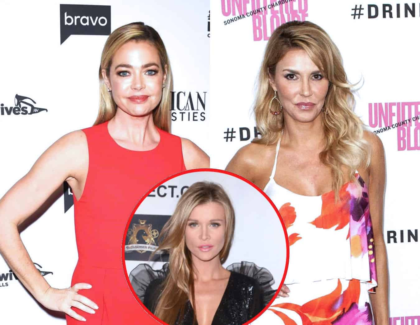 "Is RHOBH's Denise Richards Considering a Lawsuit Against Brandi Glanville? She Steps Out With Joanna Krupa Who Sued Brandi for Defamation as Brandi Insists She's ""Not Lying"" Amid Affair Claims"
