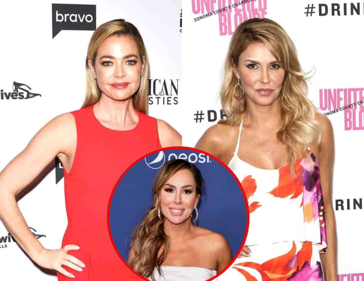 Is This the Reason Brandi Glanville and Denise Richards are Feuding? Check Out the Wild Rumor About the RHOBH Stars Plus Kelly Dodd's Reaction