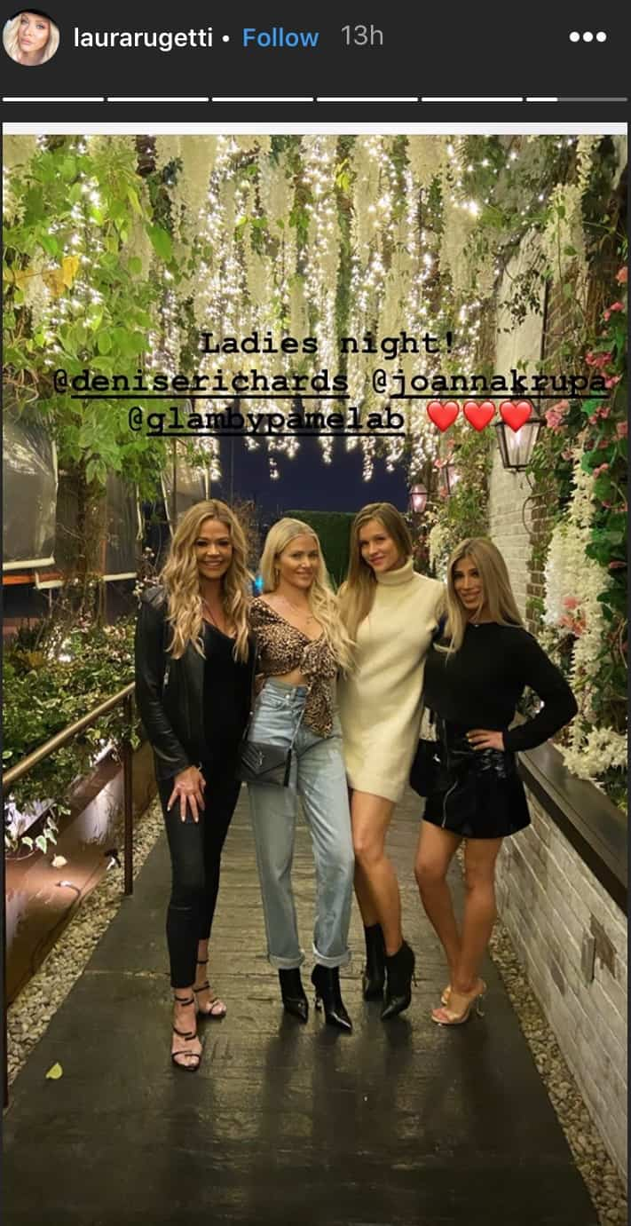 RHOBH Denise Richards and Joanna Krupa Enjoy a Night Out Amid Brandi Glanville Drama