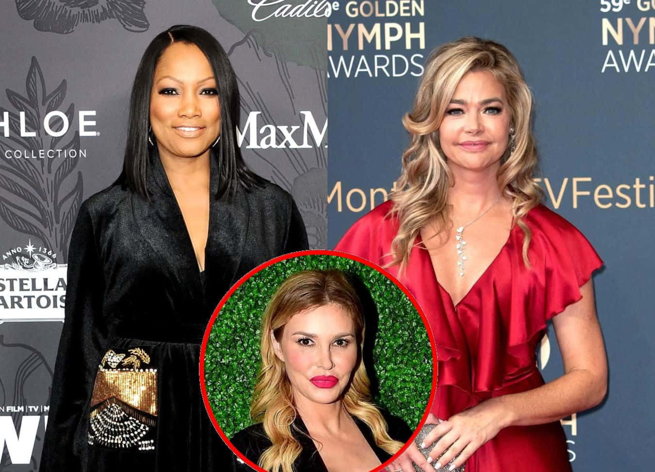 RHOBH's Garcelle Beauvais Shares How Denise Richards is Coping With Drama Involving Brandi, Plus She Reveals Hardest Part About Filming Show