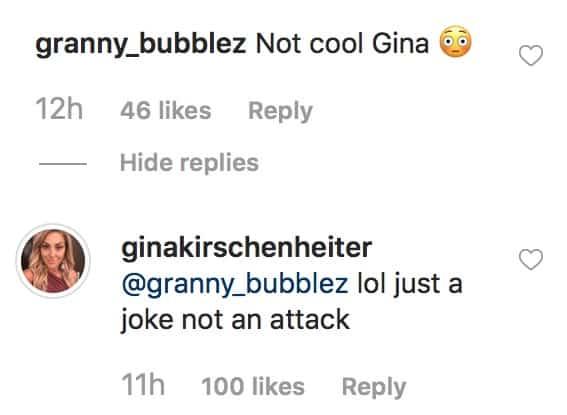 RHOC Gina Kirschenheiter Defends Vicki Gunvalson Train Meme