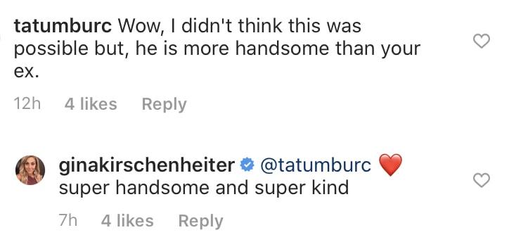 RHOC Gina Kirschenheiter Reacts to Comparassion Between Boyfriend and Ex Husband