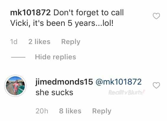 RHOC Jim Edmonds Reacts to Vicki Gunvalson's Divorce Prediction
