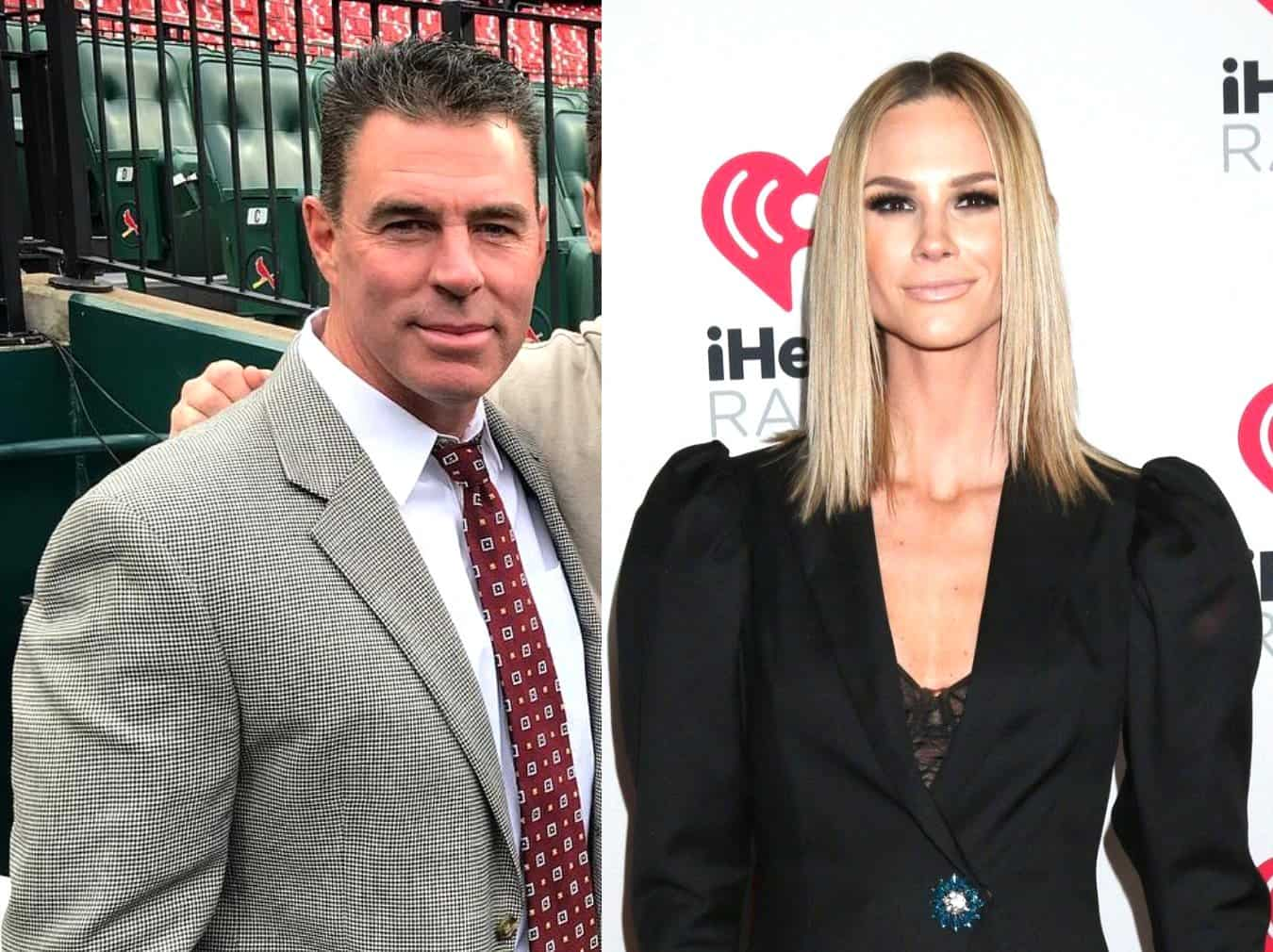 "RHOC's Jim Edmonds Alleges Ex Meghan 'Pushed' For Open Marriage and Discusses Sexting Scandal, Claims Woman He Sent Photos to ""Catfished"" and ""Blackmailed"" Him"