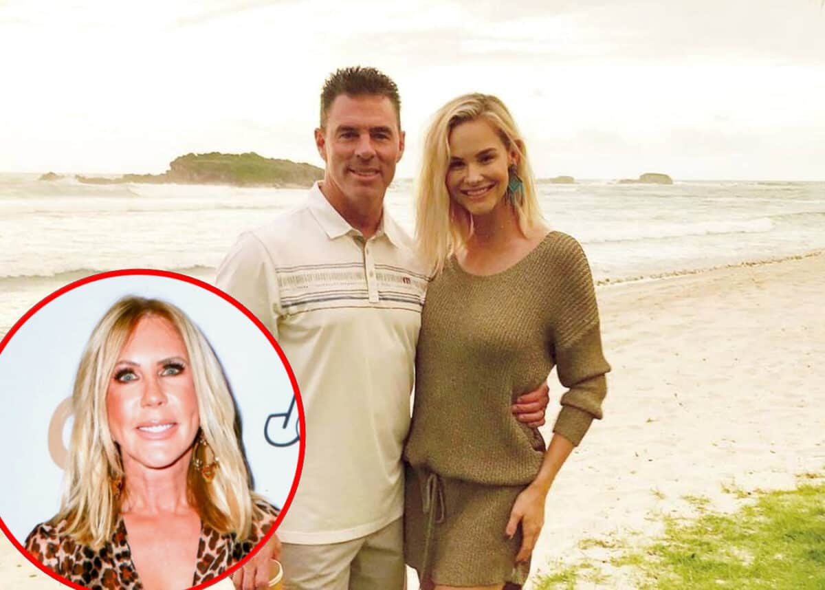 RHOC Star Jim Edmonds Slams Vicki Gunvalson! See His Post as He Denies Meghan's Claim That She Learned of His Divorce Filing in the Press and Addresses Daughter Hayley's Criticism of Her