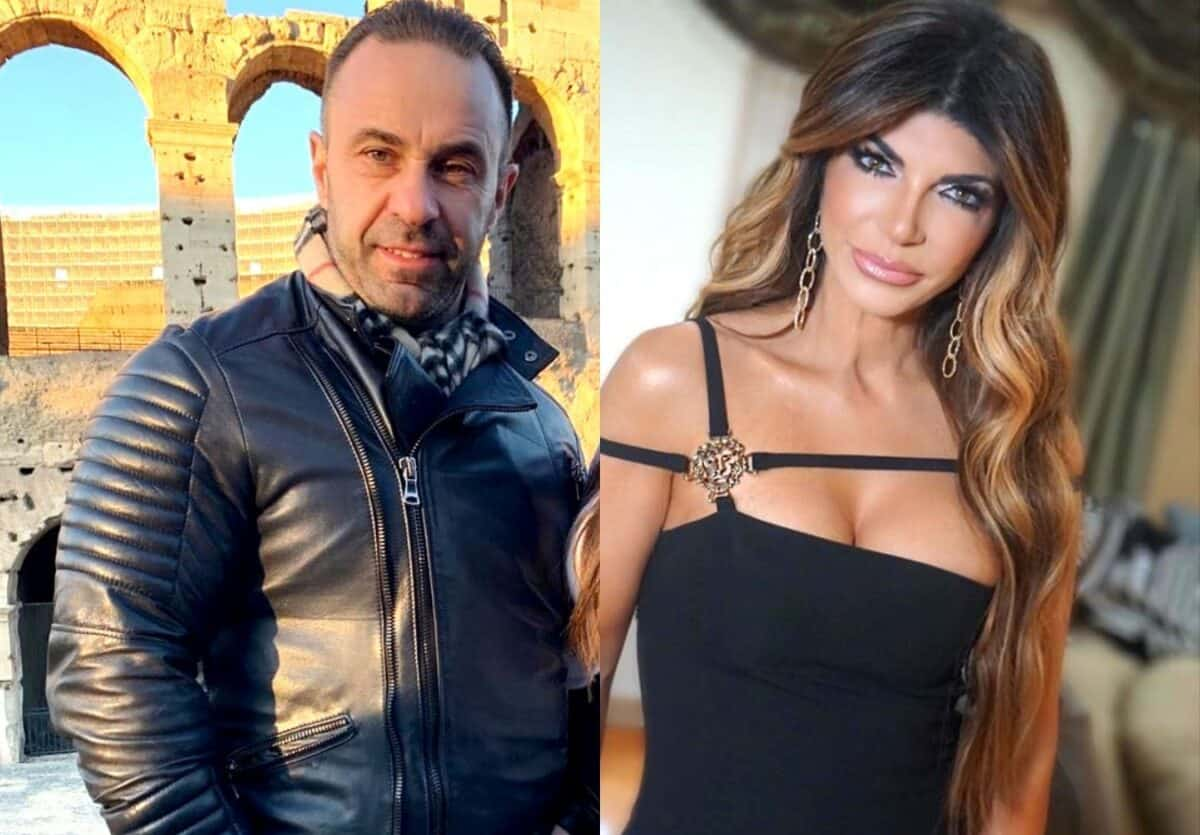 RHONJ's Joe Giudice Addresses End of Marriage in Emotional Message to Teresa Giudice, Plus He Responds to Criticism From Fan on Instagram