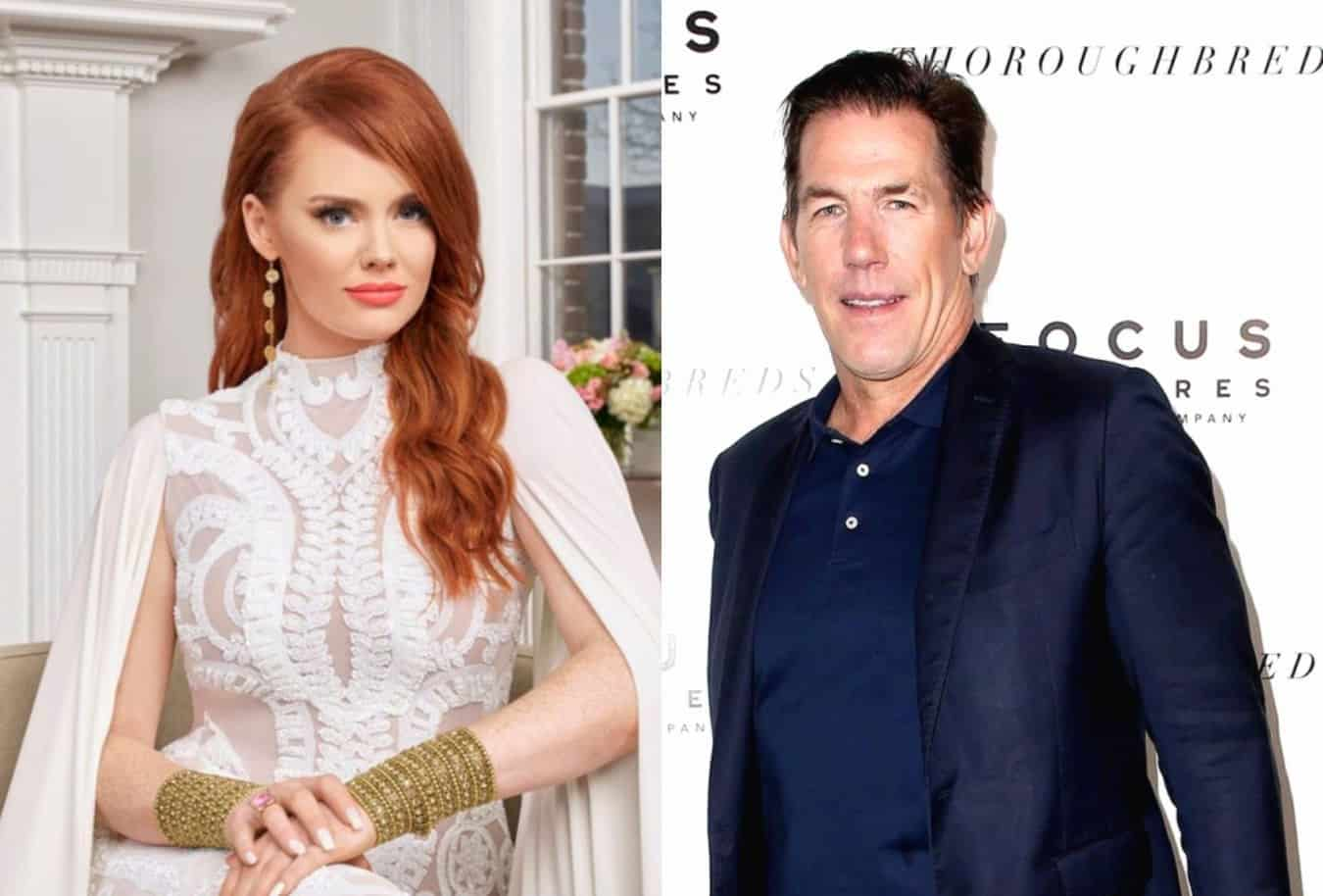 Southern Charm's Kathryn Dennis Sets the Record Straight on Relationship Status with Thomas Ravenel as Sources Claim They are Exploring a New Spark With One Another