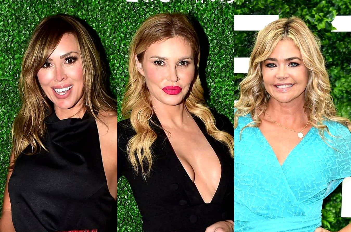 RHOC's Kelly Dodd Claims Brandi Glanville Has Proof of Denise Richards Hookups, Plus Brandi Clarifies if Anyone Has Quit the RHOBH Ahead of the Reunion