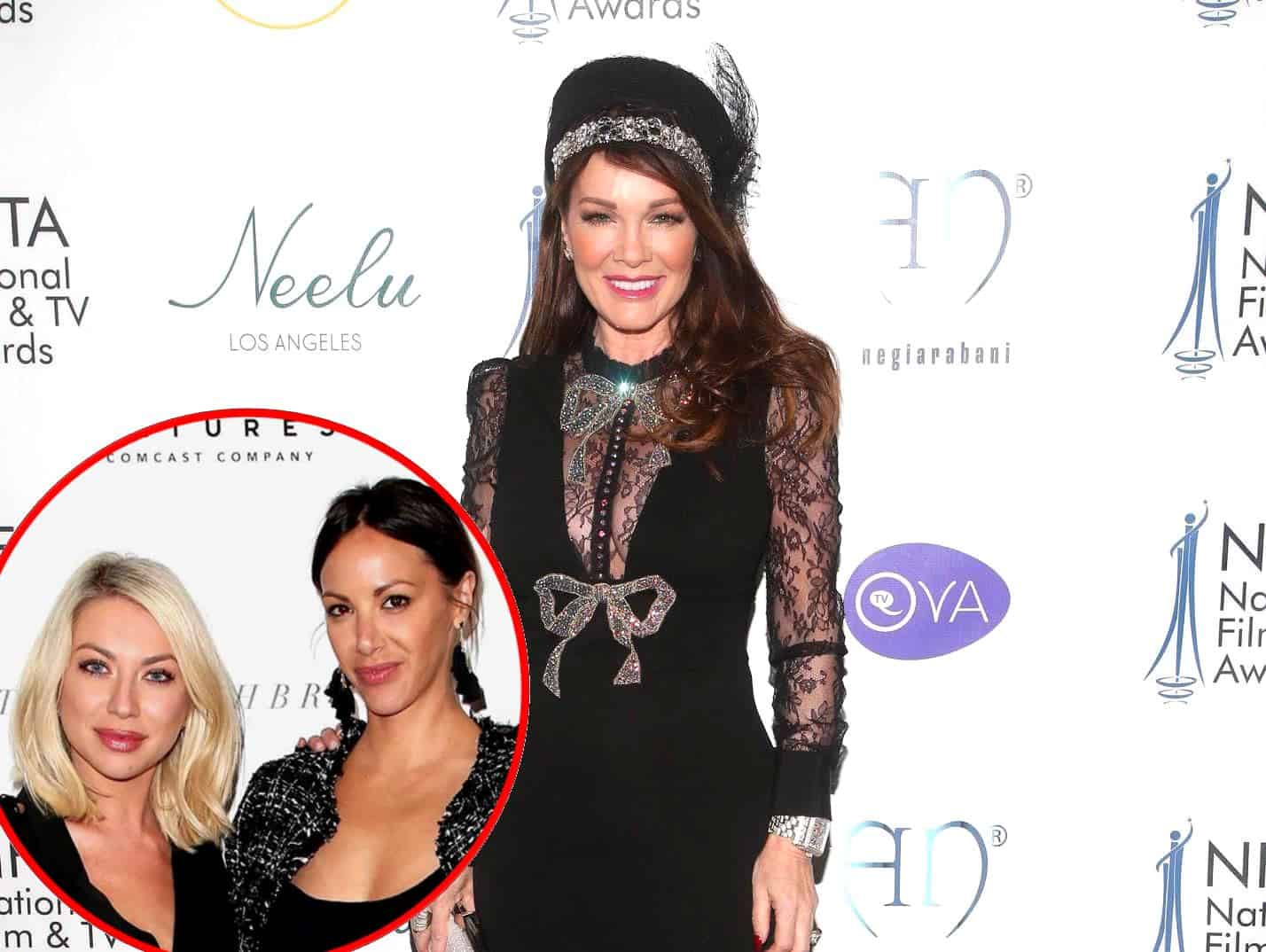 RHOBH's Lisa Vanderpump Weighs in on Stassi's Feud With Kristen and Reacts to Jax Unfollowing the Vanderpump Rules Cast, Plus a Ferrari Crashes Into Pump Restaurant