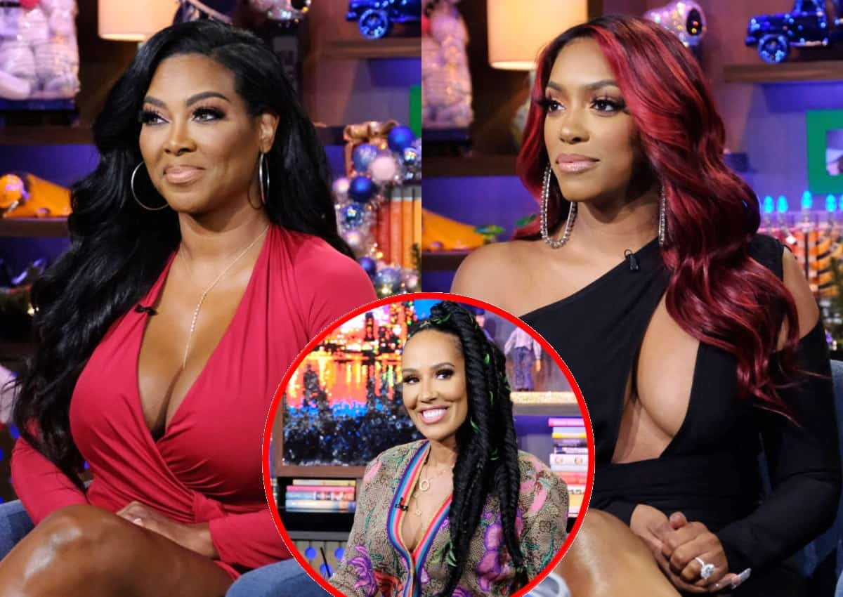 RHOA's Kenya Moore Calls Out Porsha Williams for Not Defending Her