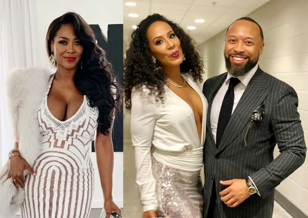 RHOA's Kenya Moore Hints That Tanya Sam's Fiance Paul Might Be Cheating on Her, Plus Tanya Announces Carnival Party Package for Fans