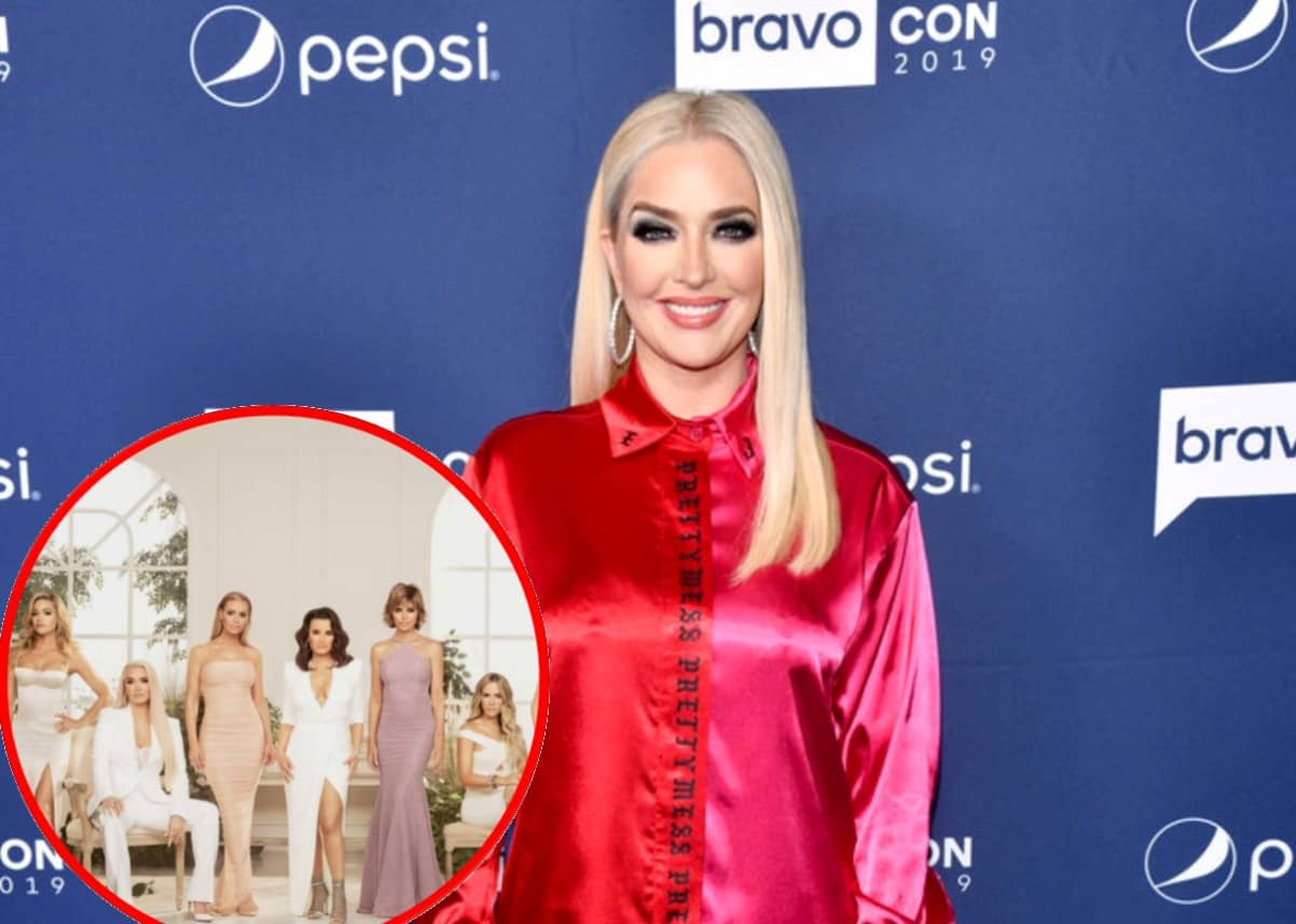 Erika Jayne Implies a RHOBH Costar is 'Two-Faced'
