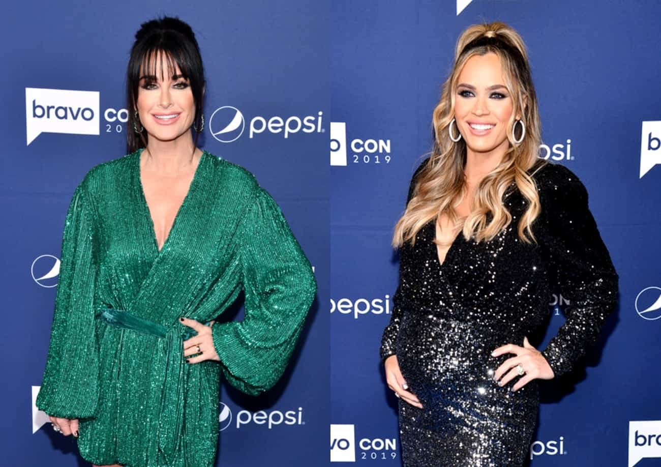 RHOBH's Kyle Richards Reacts to Teddi Mellencamp's Exit and Says She's Thankful to the Show for Bringing Them Together, Plus Teddi Receives a Pricey Housewarming Gift From Co-Star