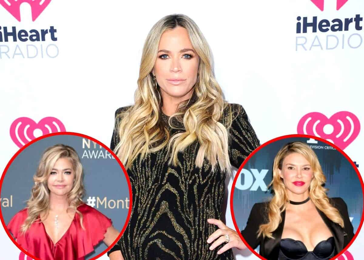 RHOBH Star Teddi Mellencamp Reacts to Drama Between Denise Richards and Brandi Glanville, Plus Brandi's Latest Tweet