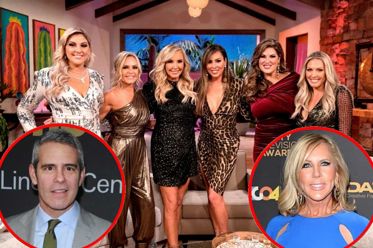 Andy Cohen Addresses Claims a RHOC Housewife Wasn't Asked to Return Next Season, Find Out Who Plus Has Bravo Made a Decision on Vicki's Future?