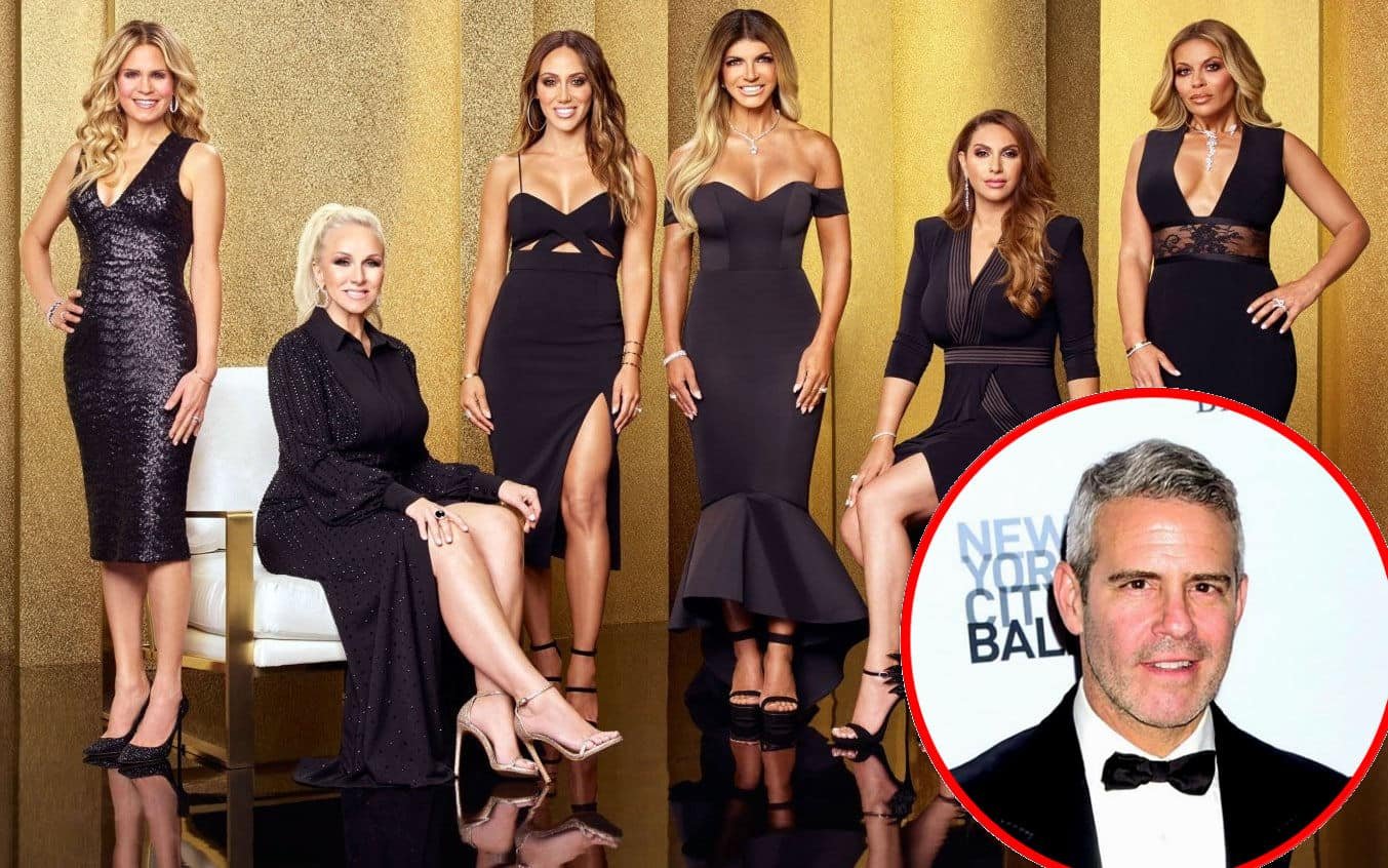 Andy Cohen Reacts to Dramatic RHONJ Reunion, Plus See Cast Photos From the Taping and Get a Glimpse of the Seating Chart!