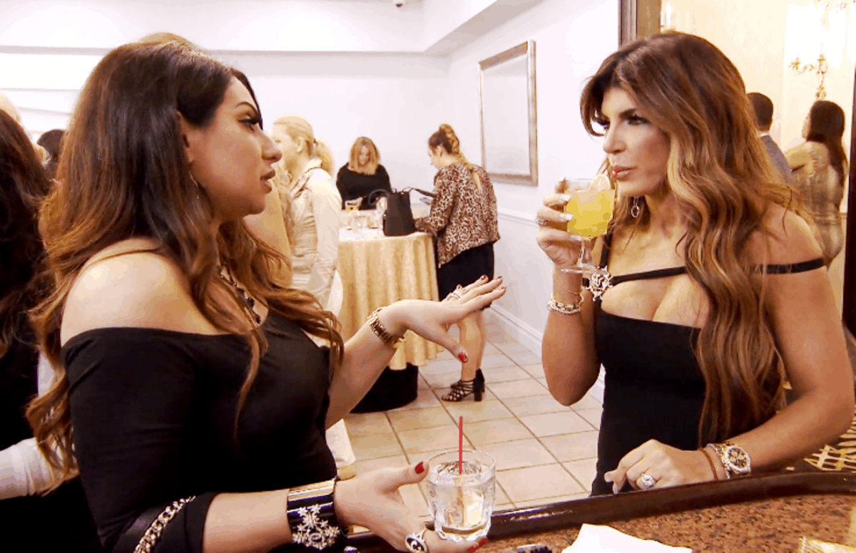 RHONJ Recap: Teresa Throws Water at Jennifer and Defends Danielle at Envy Fashion Show!