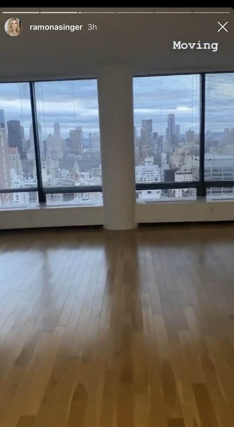 RHONY Ramona Singer Announces She's Moving to New NYC Apartment