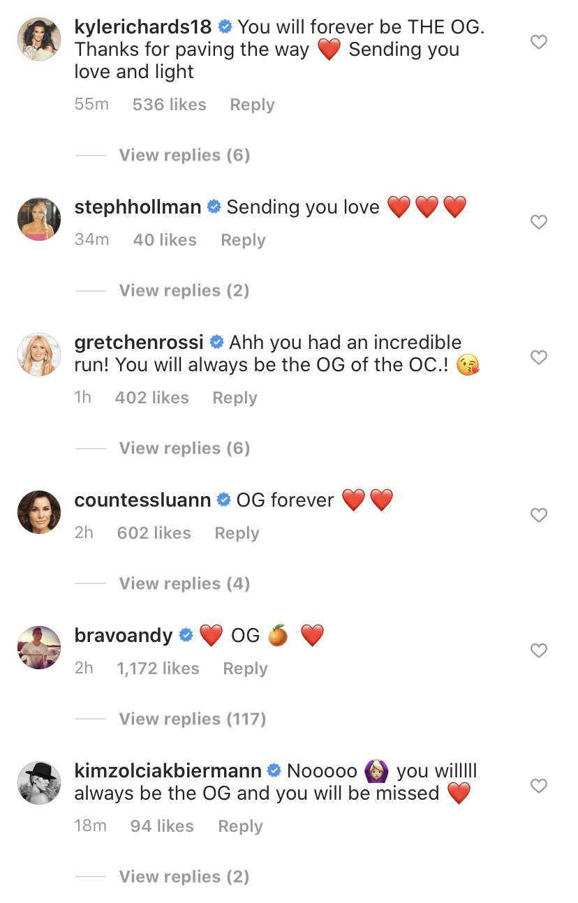 Real Housewives Speak Out on Vicki Gunvalson Quitting RHOC