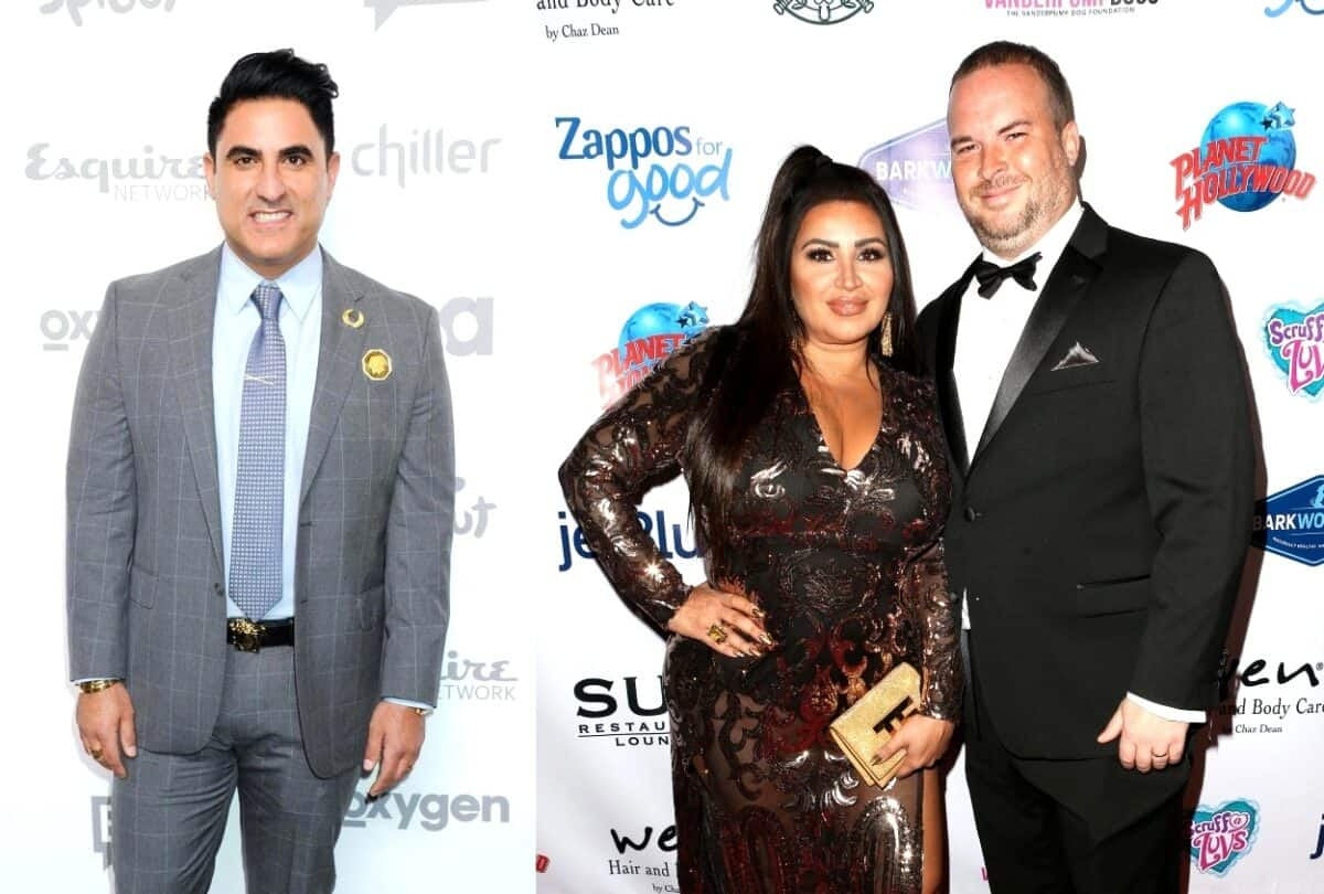 "Shahs of Sunset's 'MJ' Javid Accuses Reza Farahan of Lying at BravoCon, Find Out Why as Reza Slams Her Husband Tommy for ""Criminal Behavior"""