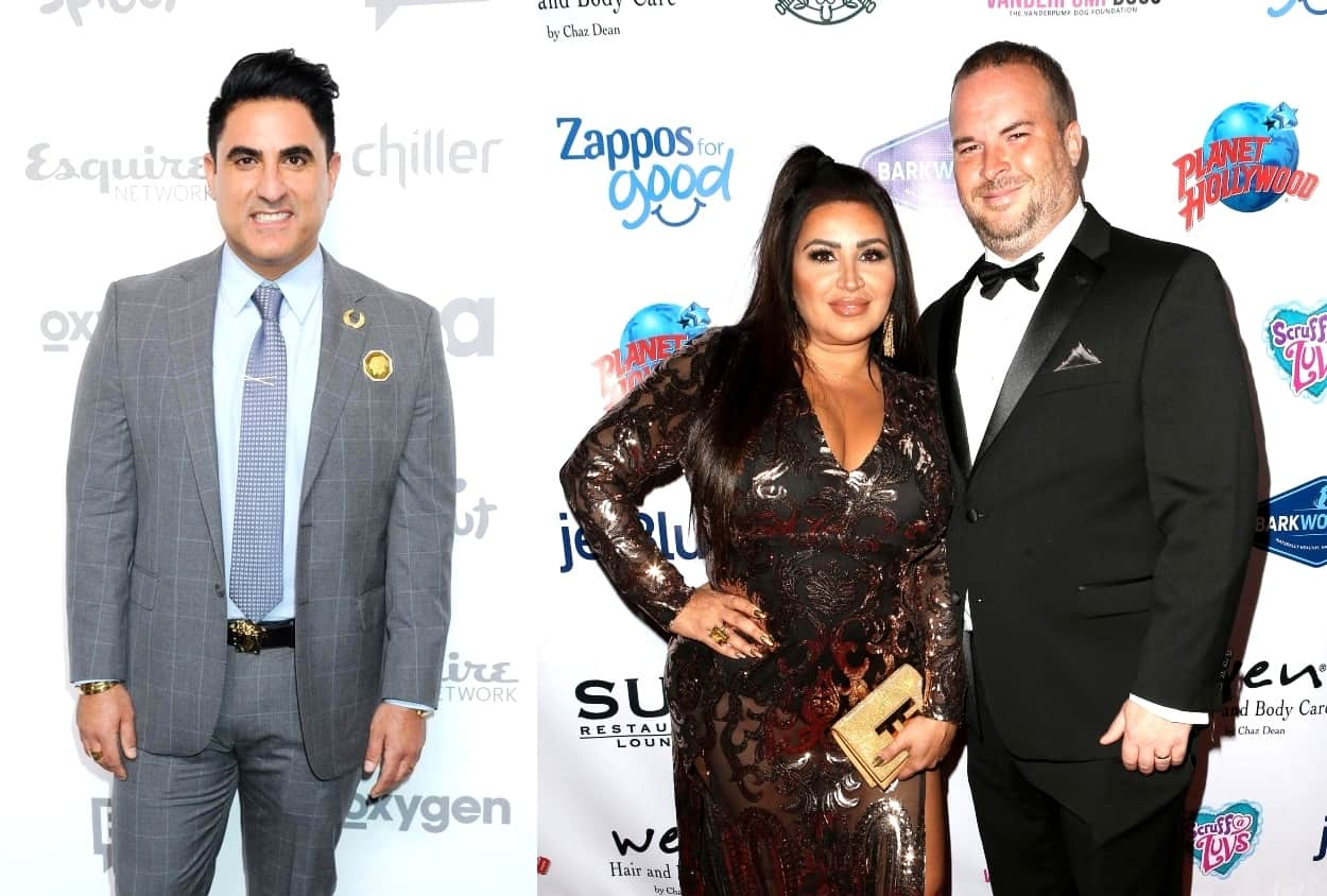 "Shahs of Sunset Star Reza Farahan Slams ""Messy"" MJ Javid in Series of Tweets, Claims He Has Numerous ""Receipts"" of Her Plot to Take Him Down Plus He Shades Tommy Feight"