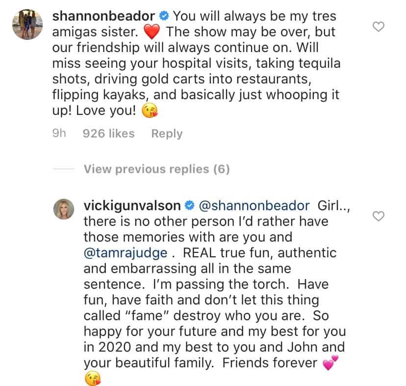 Shannon Beador Reacts to Vicki Gunvalson Quitting RHOC