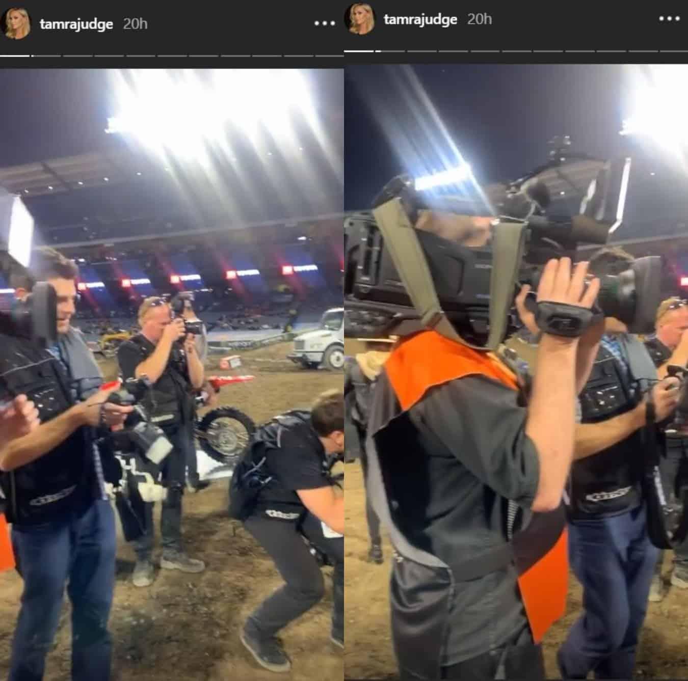 Tamra Judge Spotted Filming RHOC Season 15