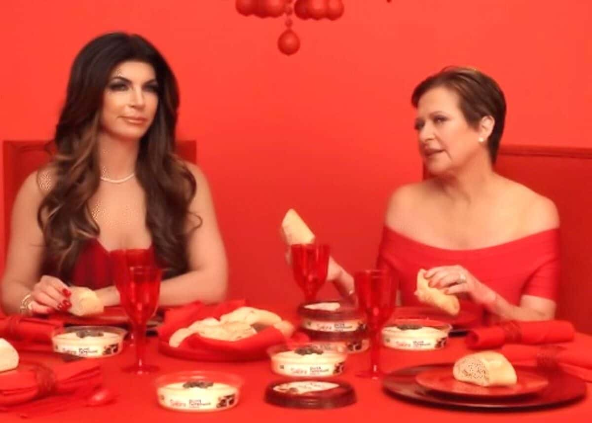 VIDEO: See RHONJ's Teresa Giudice and Caroline Manzo Super Bowl Ad Preview for Sabra Hummus, But Have They Reconciled?